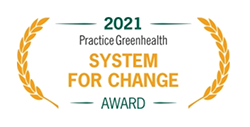 Practice Greenhealth System for Change Award