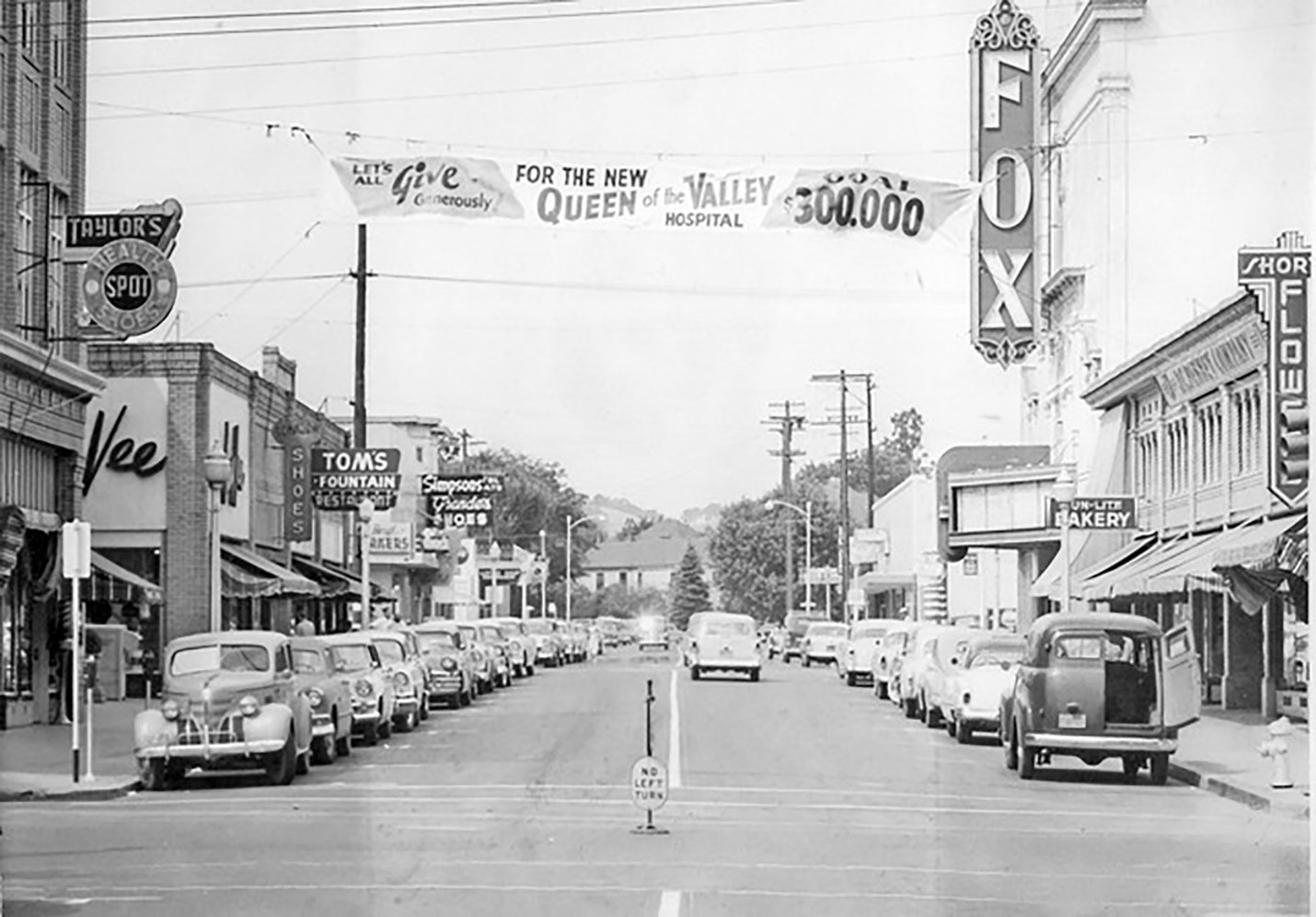 Downton Napa circa 1950