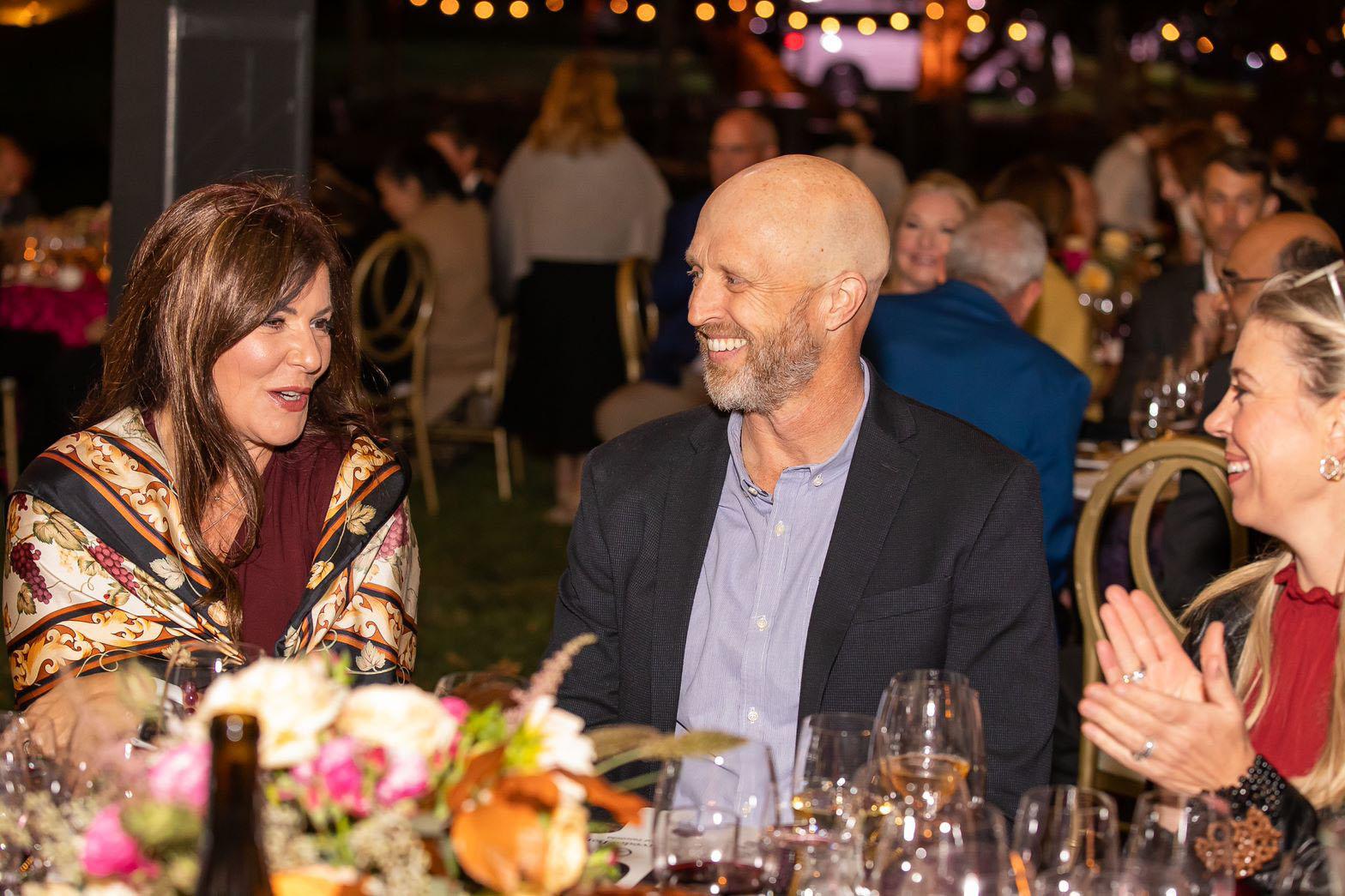 Mark, Ellie, and Lydia