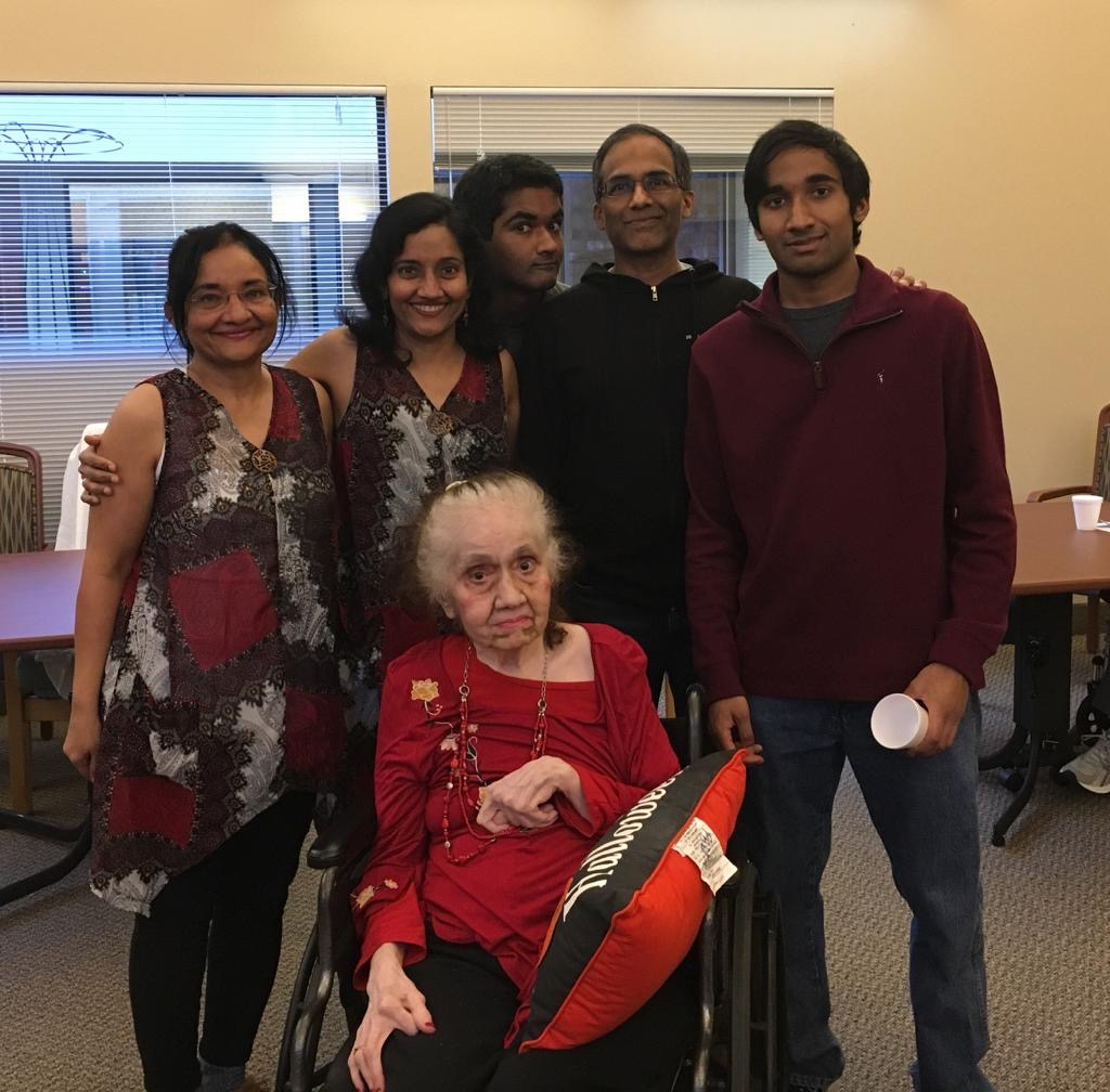 Padma and her family